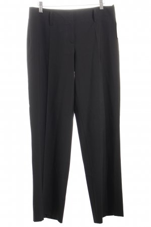 Hugo Boss Bundfaltenhose schwarz Street-Fashion-Look