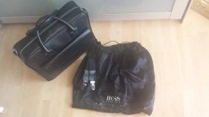 Boss Hugo Boss borsa ventiquattrore nero-argento Pelle