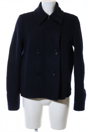 Hugo Boss Pea Jacket blue casual look