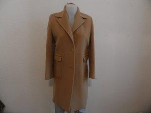 Hugo Boss Camelcoat Größe 40-42  Mantel Beige Wollmantel Designer Blogger Style