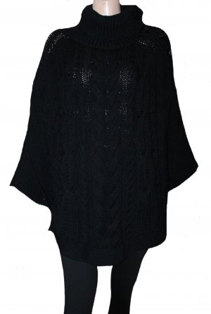 HUGO BOSS Cape Poncho schwarz dick Gr. 34-42