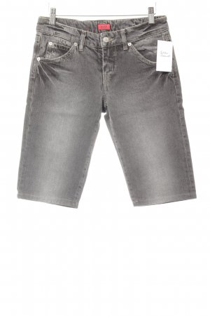 Hugo Boss Caprihose dunkelgrau Casual-Look