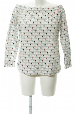Hugo Boss Carmen-Bluse grafisches Muster Casual-Look