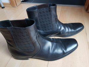 Hugo Boss Chelsea laarzen zwart