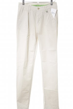 Hugo Boss Chinohose creme Business-Look