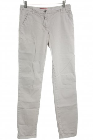 Hugo Boss Chinohose creme Casual-Look