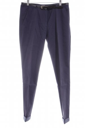 Hugo Boss Chinohose dunkelblau Business-Look