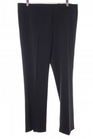 Hugo Boss Chinohose schwarz Business-Look