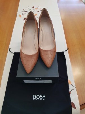 Hugo Boss Claysa Medium Brown Pumps Gr 41