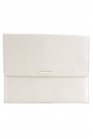 Hugo Boss Clutch creme-goldfarben Business-Look