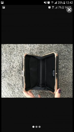 Hugo Boss Clutch Eckig black