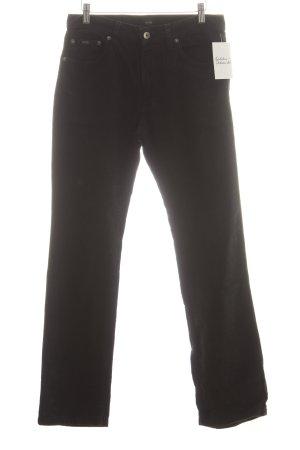 Hugo Boss Cordhose schwarz klassischer Stil