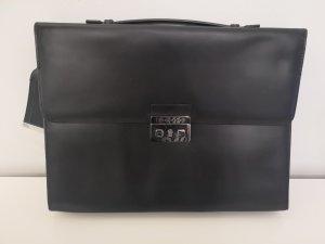 Hugo Boss Maletín negro-color plata
