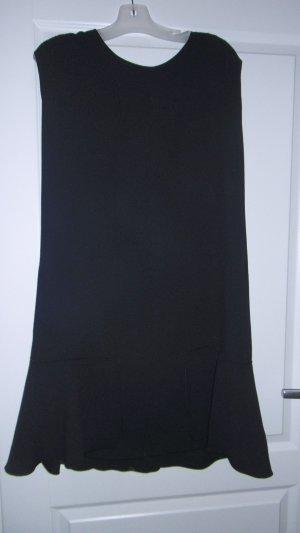 Hugo Boss Damen A Linien Kleid mit Rundhalsausschnitt, Aglenni, Midi Einfarbig