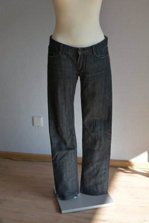 Hugo Boss Straight Leg Jeans anthracite cotton