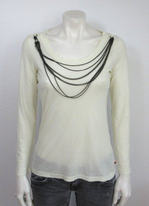HUGO BOSS Damen Shirt Gr. S beige