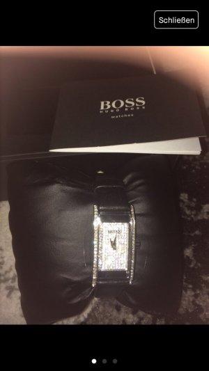 Hugo Boss Damen Uhr aus Leder