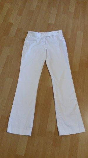 Hugo Boss Pantalon à pinces blanc