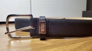 Hugo Boss Cintura di pelle nero