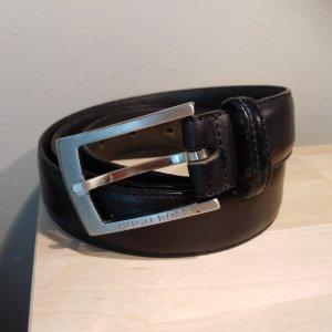 Hugo Boss Leather Belt black