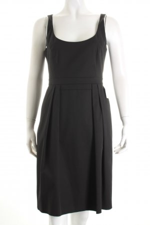 Hugo Boss Empirekleid schwarz Elegant