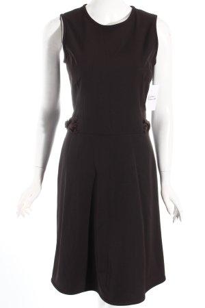 Hugo Boss Etuikleid dunkelbraun Elegant