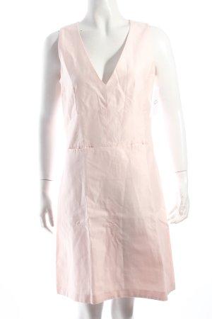 Hugo Boss Vestido ceñido de tubo rosa claro estilo clásico