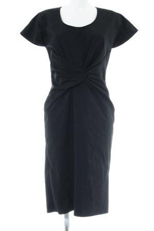 Hugo Boss Etuikleid schwarz Elegant