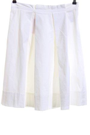 Hugo Boss Gonna a pieghe bianco stile casual