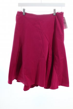 Hugo Boss Faltenrock magenta Casual-Look