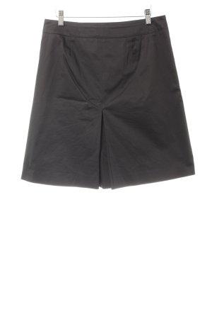 Hugo Boss Plaid Skirt black business style