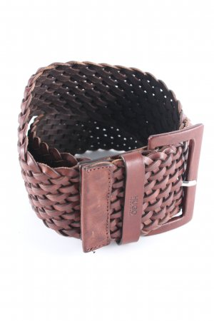 Hugo Boss Braided Belt brown empire style