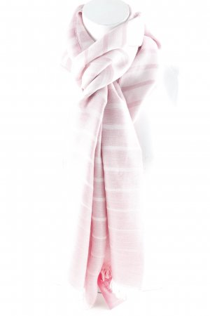 Hugo Boss Fransenschal altrosa-rosé Business-Look