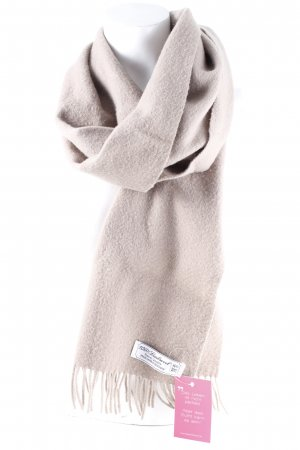 Hugo Boss Fringed Scarf light brown casual look
