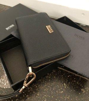 Hugo Boss Borsa clutch nero-oro