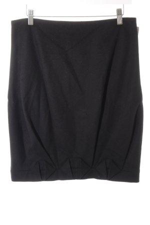Hugo Boss Flared Skirt black business style