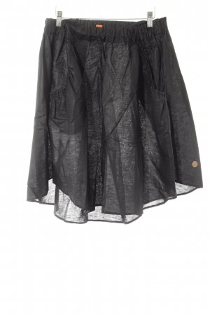 Hugo Boss Flared Skirt black elegant