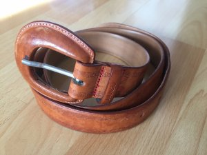 HUGO Hugo Boss Faux Leather Belt light brown