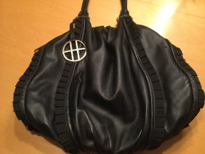 HUGO Hugo Boss Business Bag black leather