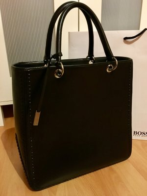 Hugo Boss Handtasche Business schwarz top