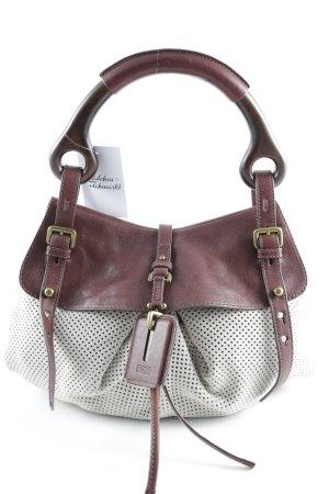 Hugo Boss Handbag cream-dark brown casual look