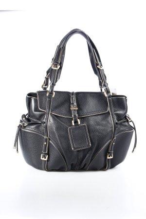 Hugo Boss Handtasche schwarz schlichter Stil