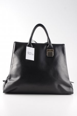 Hugo Boss Handbag black-silver-colored business style