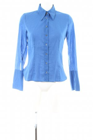 Hugo Boss Hemd-Bluse blau Casual-Look