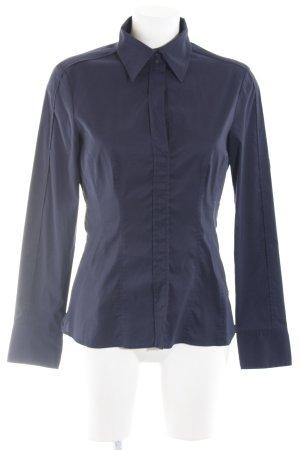 Hugo Boss Hemd-Bluse blau-dunkelblau Business-Look