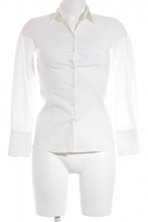Hugo Boss Hemd-Bluse creme Business-Look