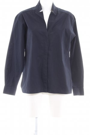 Hugo Boss Hemd-Bluse dunkelblau Elegant