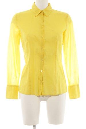 Hugo Boss Blusa-camisa amarillo estilo «business»