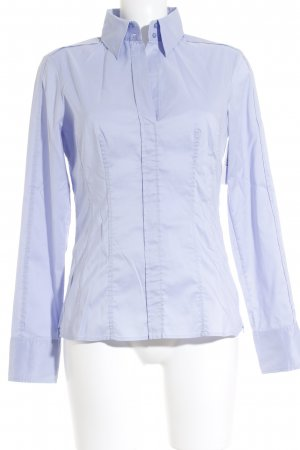 Hugo Boss Hemd-Bluse hellblau Business-Look