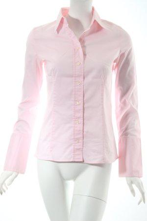 Hugo Boss Hemd-Bluse hellrosa klassischer Stil